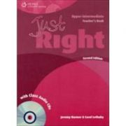 Just Right Upper Intermediate Teacher's Book with Class Audio CD