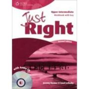 Just Right Upper Intermediate Workbook with Key and Audio CD