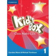 Kid's Box Level 1 Class - (contine 4 CD)