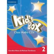 Kid's Box Level 2 Class - (contine 4 CD)