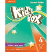 Kid's Box Level 4 Activity Book - Caroline Nixon, Michael Tomlinson