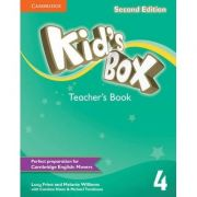 Kid's Box Level 4 Teacher's Book - Lucy Frino