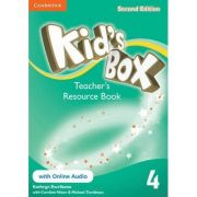 Kid's Box Level 4 Teacher's Resource Book