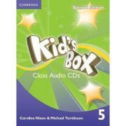 Kid's Box Level 5 Class - (contine 3 CD)
