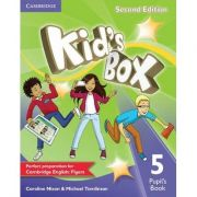 Kid's Box Level 5 Pupil's Book - Caroline Nixon, Michael Tomlinson
