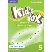 Kid's Box Level 5 Teacher's Resource Book