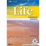 Life Intermediate Workbook with Key and Audio CD