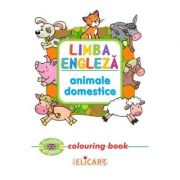 Limba engleza: Animale domestice (Colouring Book)