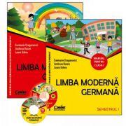 Limba moderna germana. Manual pentru clasa I sem. I