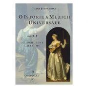 O istorie a muzicii universale, volumul 3. De la Schubert la Brahms - Ioana Stefanescu