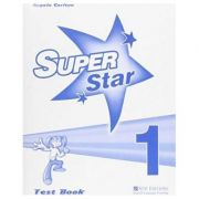 Super Star 1 Test Book - Angela Carlton