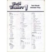 WORLD WONDERS 1 TEST BOOK ANSWER KEY
