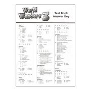 World Wonders 3 Test book Answer Key