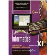 Informatica. Manual pentru clasa a XI-a - Mariana Milosescu