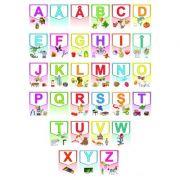Alfabetul limbii romane – Set planse (KP-019) - 30x40