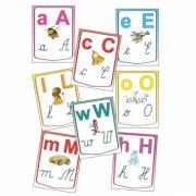 Alfabetul limbii romane – Set planse (KP-020) - 30x40