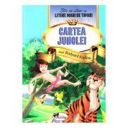 Cartea Junglei - Stiu sa citesc cu litere mari de tipar