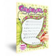 Creionel - caiet de exerciții grafice 4-5 ani, Mariana Andreianu, Olga Olariu