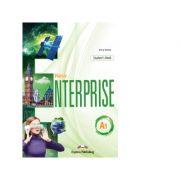 Curs Limba Engleza New Enterprise A1 Manualul Elevului cu Digibook App - Jenny Dooley