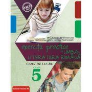 Exercitii practice de limba si literatura romana. Caiet de lucru pentru clasa a V-a - Geanina Cotoi