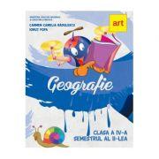 Manual geografie pentru clasa a IV-a. Semestrul al II-lea - Carmen Camelia Radulescu, Ionut Popa