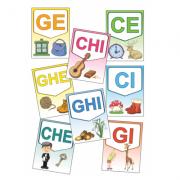 Grupuri de litere – Set planșe (KP-022) - 30x40