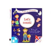 Let's count! + CD - I learn English with Peter and Emily - Larousse