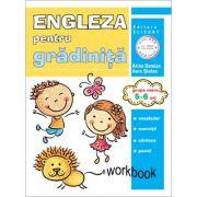Limba engleza pentru gradinita. Grupa mare 5-6 ani. Workbook - Arina Damian, Aura Stefan