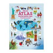 Marele atlas ilustrat pentru copii prescolari si scolari - Larousse