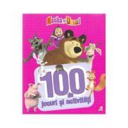Masha si ursul - 100 de jocuri si activitati vol. 1