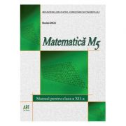 Matematica M5. Manual pentru clasa a XII-a, Niculae Ghiciu