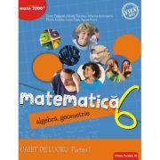 Matematica. Algebra, geometrie. Caiet de lucru. Clasa a 6-a. Consolidare. Partea I