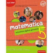 Matematica. Aritmetica, algebra, geometrie. Caiet de lucru. Clasa a 5-a. Consolidare. Partea I