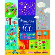 Numara pana la 100 (Usborne) - Felicity Brooks, Sophia Touliatou