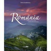Album Romania: oameni, locuri si istorii. Romana, engleza - Florin Andreescu, Mariana Pascaru