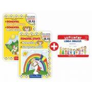 Set doua carti, A4, grupa mica 3-4 ani, Mariana Andreianu, Mihaela Andreianu, Doina Marin