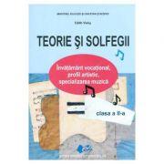 Teorie si solfegii Clasa 2 ed. 2017 - Edith Visky