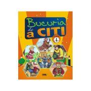 Bucuria de a citi, caiet de lectura pt clasa a IV-a - Marinela Chiriac