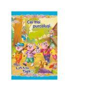 Cei trei purcelusi/Three Little Pigs. Colectia Povesti Bilingve