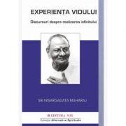 Experienta vidului. Conversatii despre realizarea infinitului - Nisargadatta Maharaj