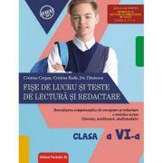 Fise de lucru si teste de lectura si redactare, clasa a VI-a - Cristina Cergan