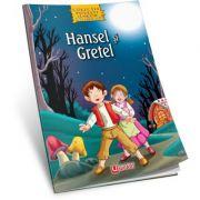 Hansel si Gretel - Carte de colorat + poveste