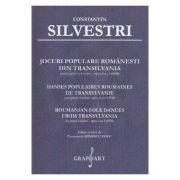 Jocuri populare romanesti din Transilvania pentru Pian la 4 maini Opus 4, numarul 1 - Constantin Silvestri