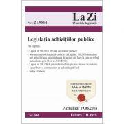 Legislatia achizitiilor publice. Cod 666. Actualizat la 19. 06. 2018