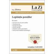 Legislatia pensiilor Act. 16. 05. 2018