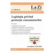 Legislatia privind protectia consumatorilor Act. 13. 06. 2018