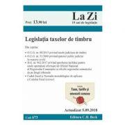 Legislatia taxelor de timbru Act. 5. 09. 2018