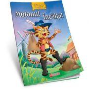 Motanul incaltat - Carte de colorat + poveste