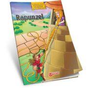 Rapunzel - Carte de colorat + poveste