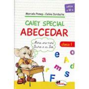 Caiet special ABECEDAR, clasa I-a